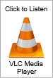 Listen via VLC Media Player